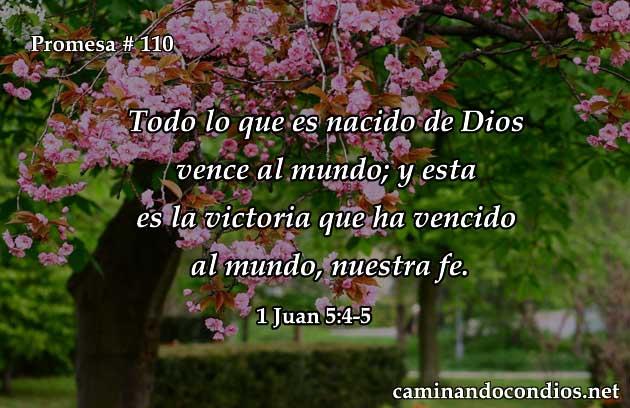1 Juan 5:4-5