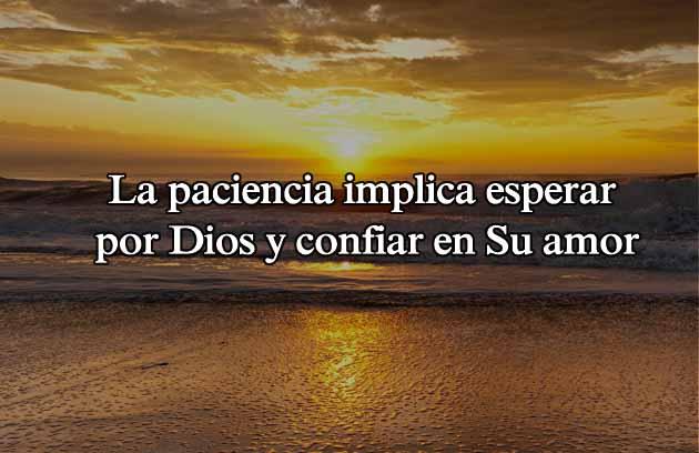 Paciencia de Dios